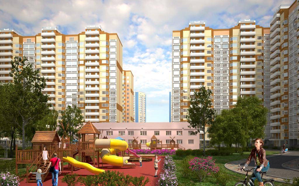 Studio Apartments in the Greater Domodedovo Residential Area Priced from 1 344 000 Rubles!