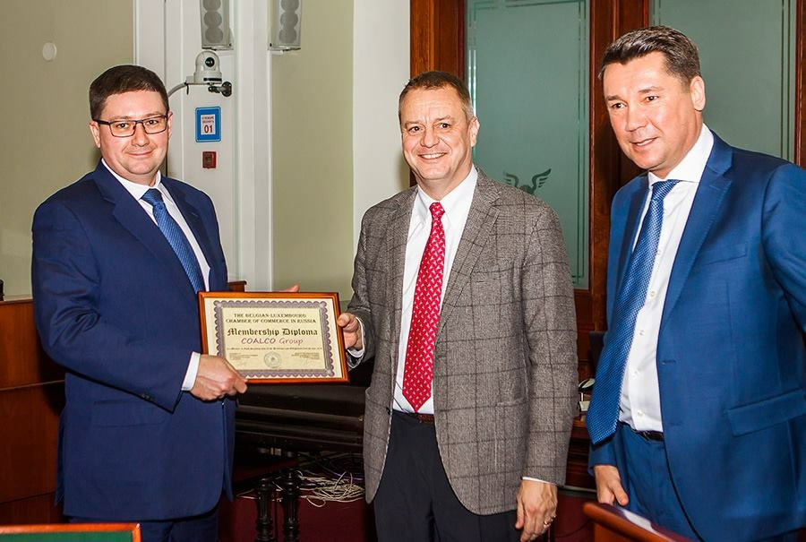 COALCO BECAME A MEMBER OF THE BELGIAN-LUXEMBURG CHAMBER OF COMMERCE