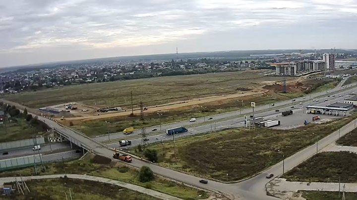 Construction of a transport junction adjoining М4 Don highway and Kashirskoe Highway